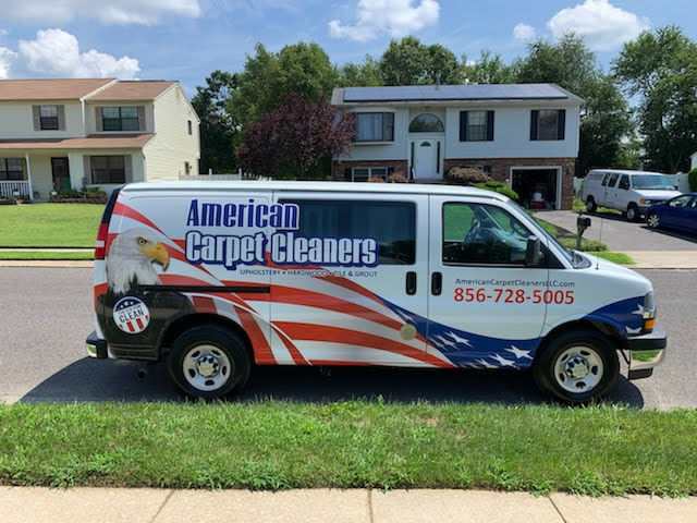 American Carpet Cleaners Van